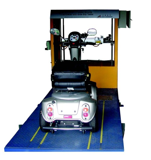 TSST07 Scooter Tiller Bar with Side-Slip Tester