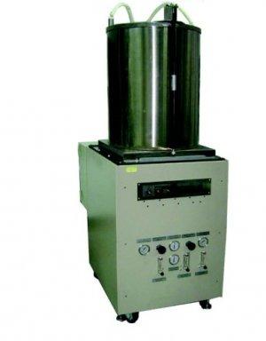 SOFC High Temperature Glass-Ceramic Seals Gas Leak Test System