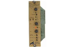 7711 Ultra Dynamic Strain Gage Signal Conditioning Amplifier