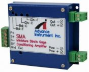 SMA Miniature Strain Gage Conditioning Amplifier