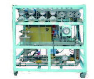 核電廠燃料束啜吸檢查系統流體控制台